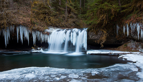 Butte Creek Falls - Winter 2009
