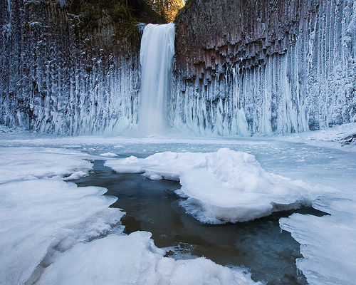 Abiqua Falls - Winter 2009