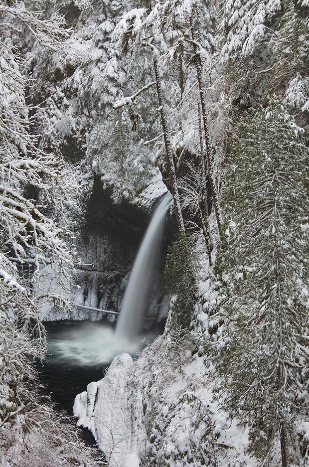 Metlako Falls - Winter 2009