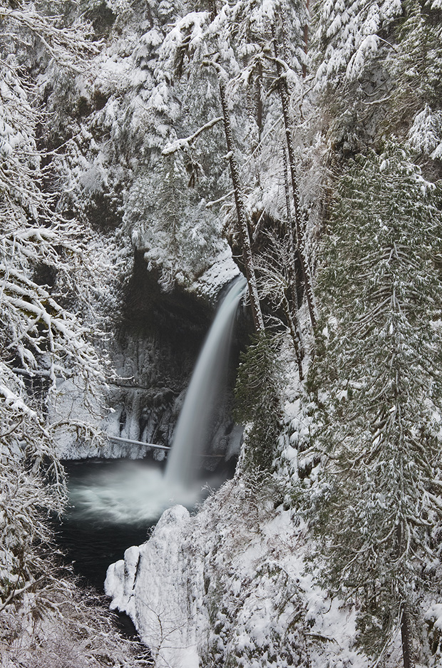 Metlako Falls - Winter 2009