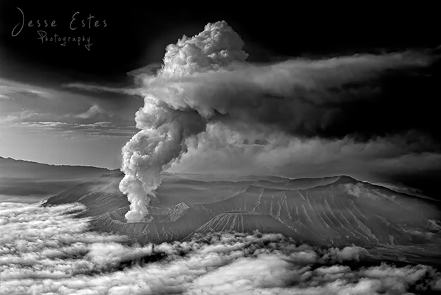 Mount Bromo Indonesia - Smoke