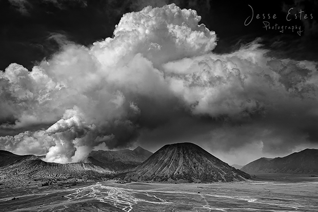 Mount Bromo Indonesia - Clouds