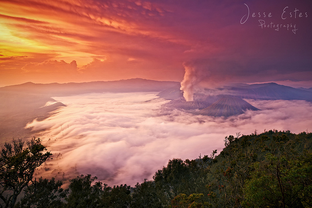Mount Bromo Indonesia Sunrise