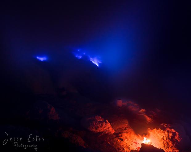 Ijen Blue fire - Kawah Ijen Indonesia