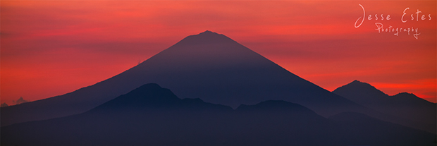 Agung Mountains - Photographing Lombok Indonesia