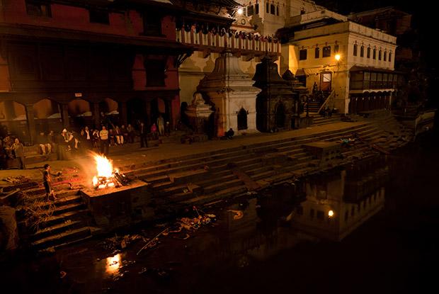 Cremation - Kathmandu Nepal