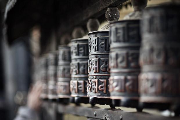 Prayer Wheels - Kathmandu Nepal