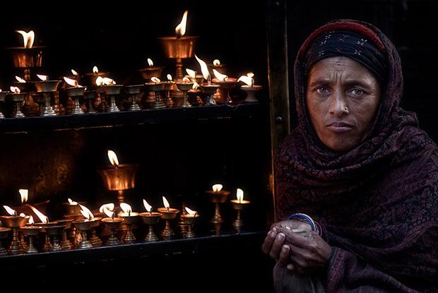 Butter Lamps - Kathmandu Nepal