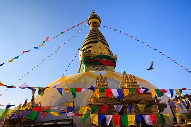Swayambhunath -  Kathmandu Nepal
