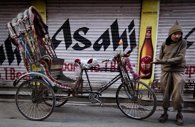 Rickshaw - Kathmandu Nepal