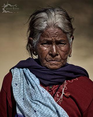 Pokhara Elder - Photographing Pokhara Nepal