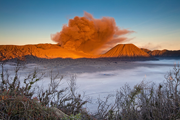 Ash - Photographing Mount Bromo
