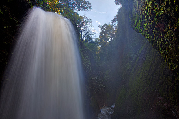 East Java Waterfall - Photographing Kawah Ijen