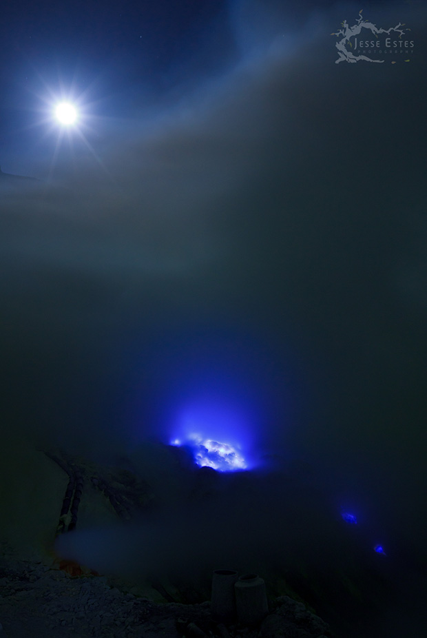 Blue fire - Photographing Kawah Ijen