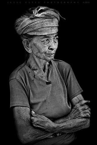 Photographing Bali Indonesia - Elder