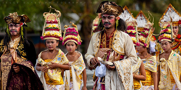 Hindu Festival - Photographing Bali Indonesia