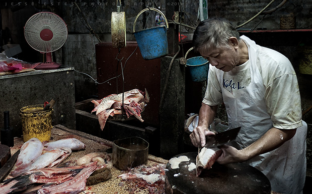 Fish Market - Photographing Malaysia
