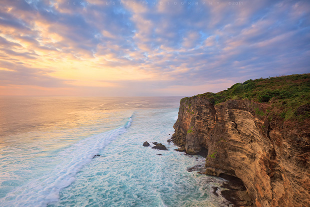 Sunset at Uluwatu - Photographing Bali Indonesia