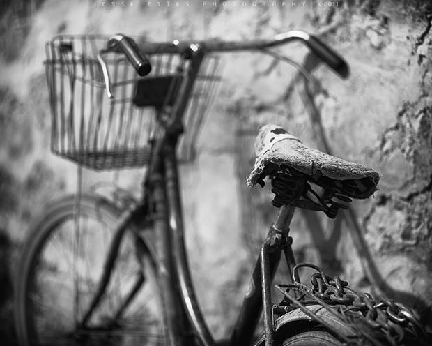 Bikes of Guilin, Old Bike I