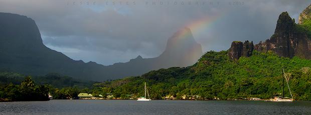 Tahiti & The French Polynesia, Cooks Bay