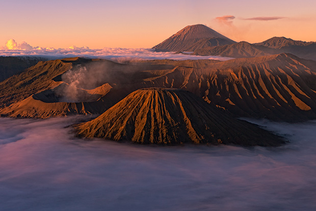 Photographing Mount Bromo - 2011