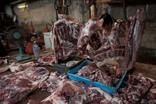 Meat Market - Photographing Malaysia