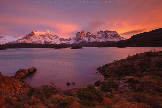 patagonia photography Lago Peho - Torres del Paine, Chile
